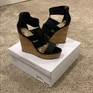 Steve Madden tall wedges, size 7